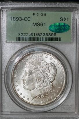 1893-CC $ PCGS MS61 5235899