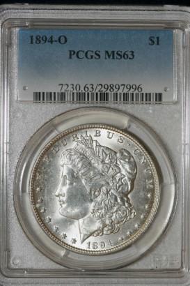 1894-O $1 PCGS MS63 29897996