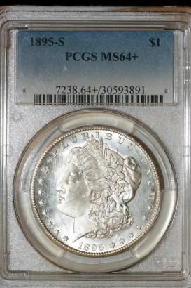 1895 S $ PCGS MS64+ 30593891