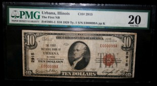 Urbana Illinois National Note VF20