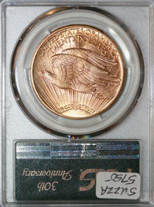 1912 $20 PCGS MS64 80638981 REV
