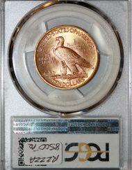 1911 $10 PCGS MS65 81628432 REV