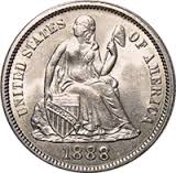 Seated Dime